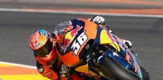 KTM RC16 di Valencia 2016