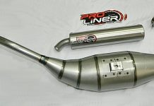 Knalpot racing 2T Proliner
