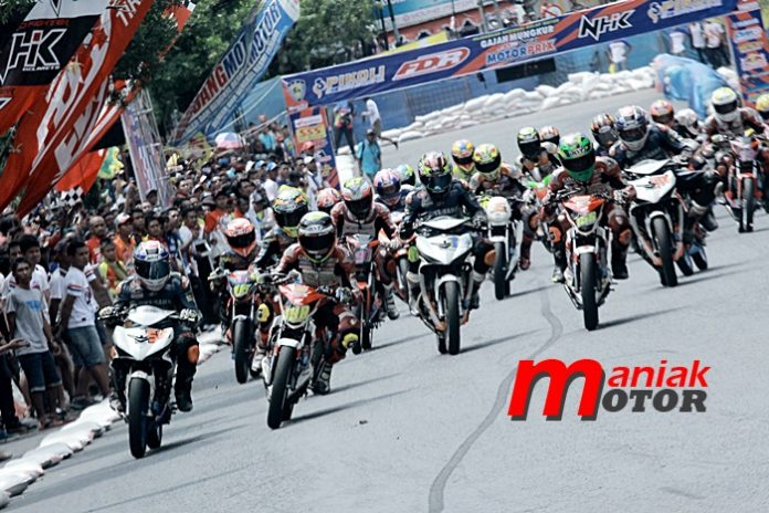 MP, Road race, Wonogiri, sirkuit