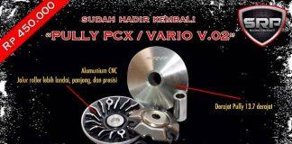 Puli/pully racing CVT