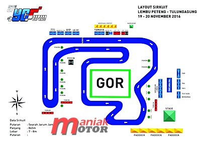 YCR, roadrace, OMR, Tulungagung, hendra