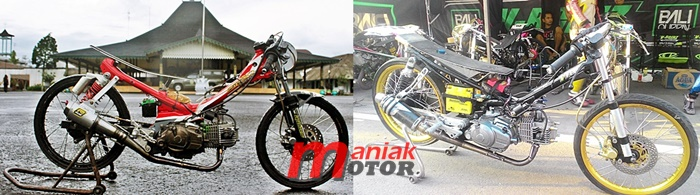 Drag bike, Jupie, Batang, BMSC
