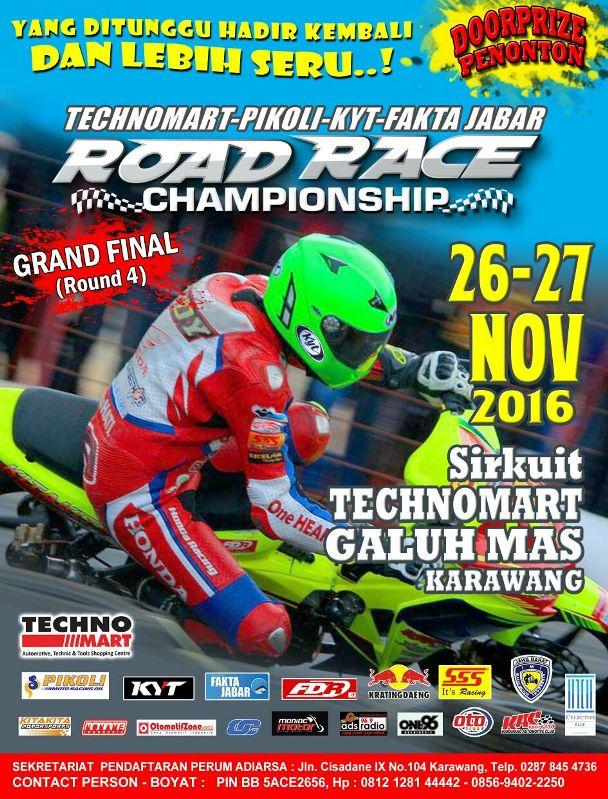 Road Race Karawang 26 - 27 November 2016
