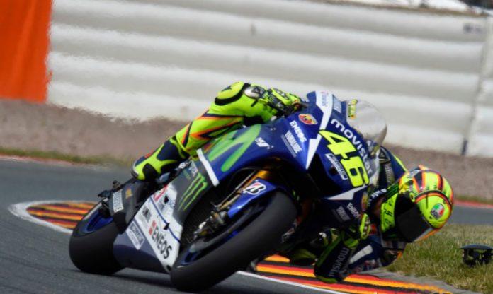 Motogp, Valencia, Rossi, Start