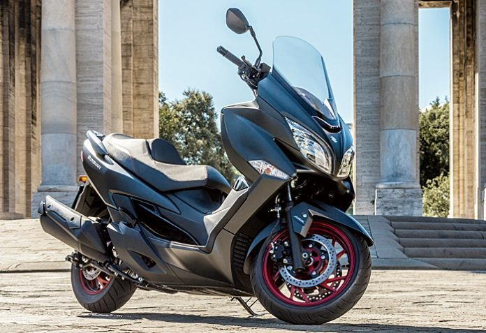 Suzuki, Burgman400, skutik, premium