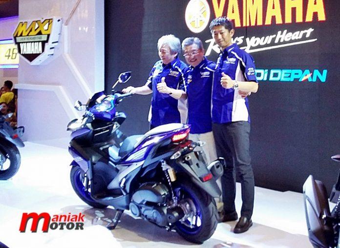 Yamaha, Aerox, VVA 155, Jakarta, IMOS