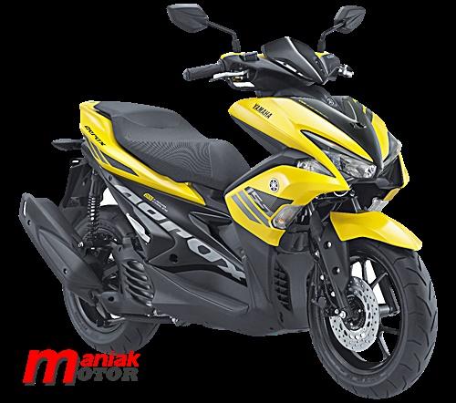 Yamaha, Aerox, 155VVA, IMOS, jakarta