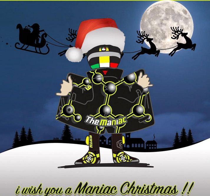 Ucapan Natal dari Andrea Iannone