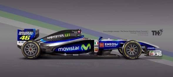 Mercedes F1 Rossi
