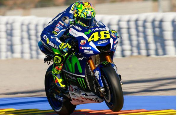 Rossi test Sepang untuk M1 2017