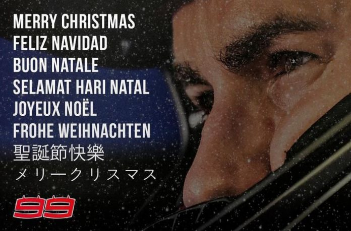 Jorge Lorenzo ucapkan Natal 2016 dengan berbagai bahassa
