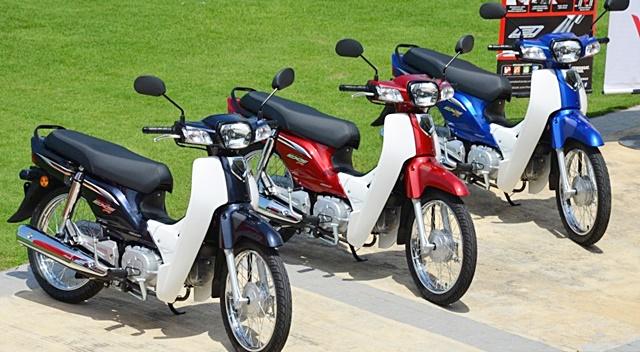 Honda,Dream EX5i, bebek,Malaysia