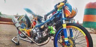 MX King Drag Bike