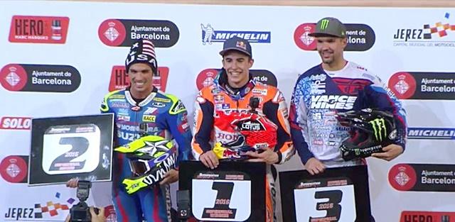 Marquez, superprestigio, spanyol, juara