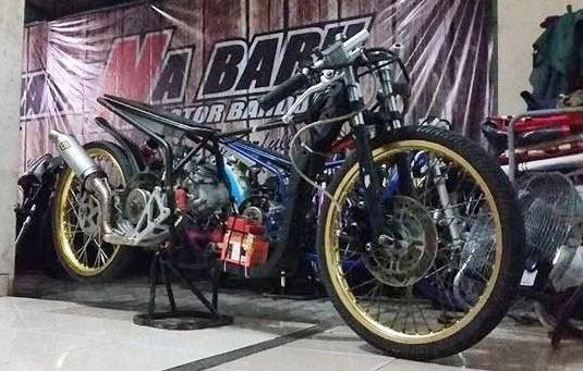 Mio Matik 200 Wahana Baru Drag Bike