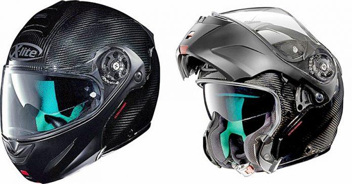 Helm, X-Lite 1004, serat karbon