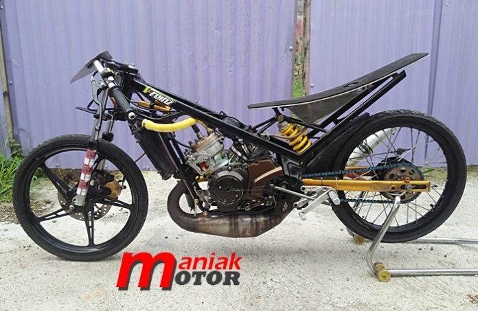 Bali, Ninja TU, Knalpot ABRT
