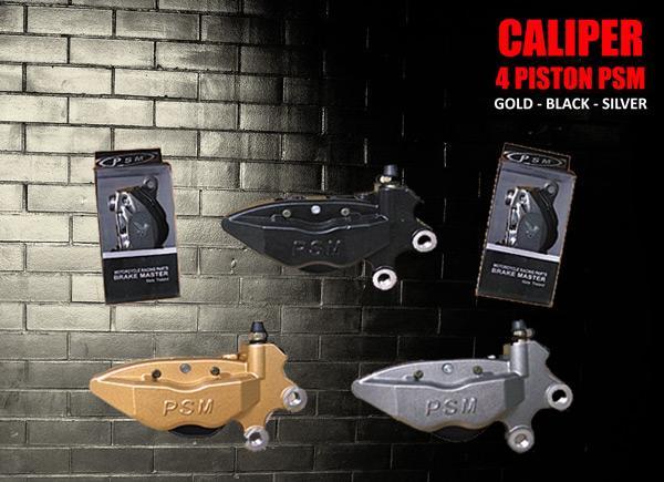 Caliper 4 piston PSM