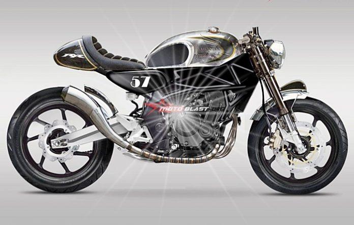 CBR250RR,Cafe racer, Honda