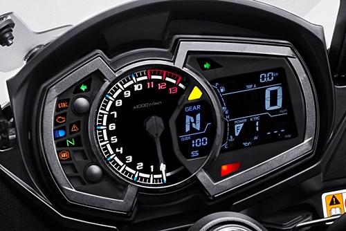 Kawak, Ninja 1000, instrumen, indikator