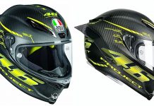 Helm, AGV, GPR Rossi
