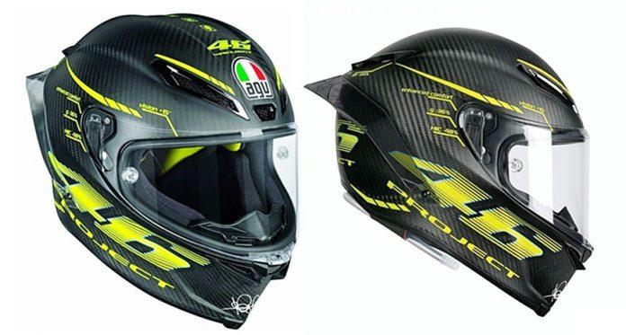 Helm, AGV, GPR Rossi