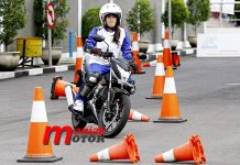 Honda, AMY, Safety riding