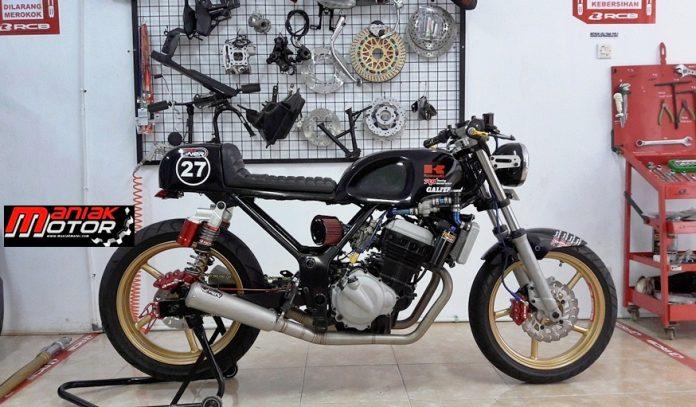 Modif Kawasaki Ninja Cafe Racer