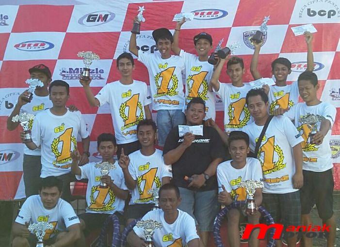 V-Reinz tim drag bike Indonesia