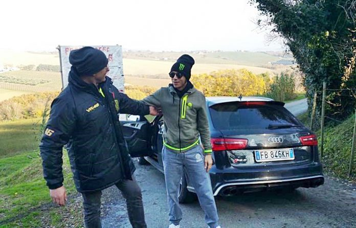 Rossi, Audi RS6, Madonna