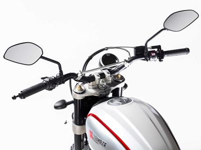 Ducati, scramble, indikator