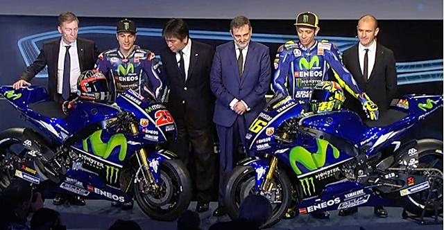 Yamaha, M1 2017, VM Rossi