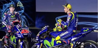 Yamaha, M1 2017, launching