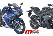 Yamaha, R-25, warna baru