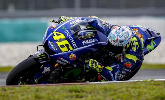 Valentino Rossi tes Sepang