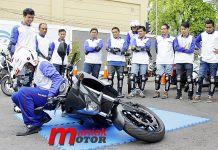 Honda, safety riding, yogya, big bike