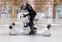 Scorpion-3, Rusia, Hoverbike, terbang