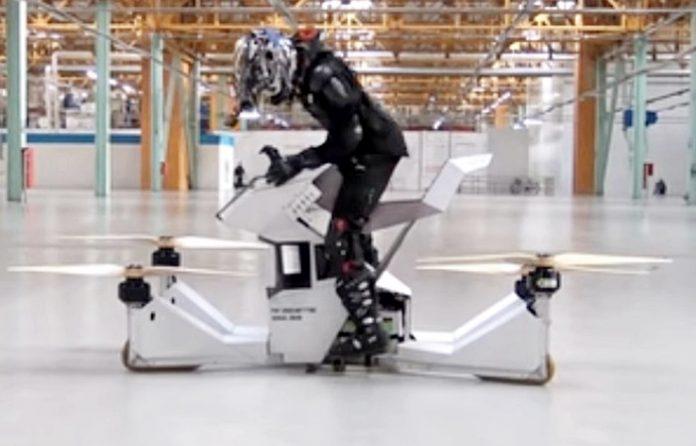 Scorpion-3, Rusia, Hoverbike, terbang