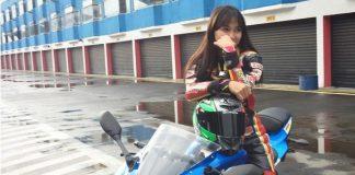Wiwi Mungils dengan Suzuki GSX-R150