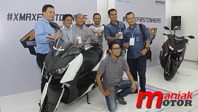 Yamaha, XMAX, Komunitas