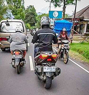 Yamaha, X-Max, Bali, Tes