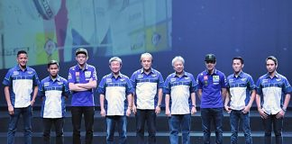 Yamaha, riders YRI, Rossi vinales, Jakarta
