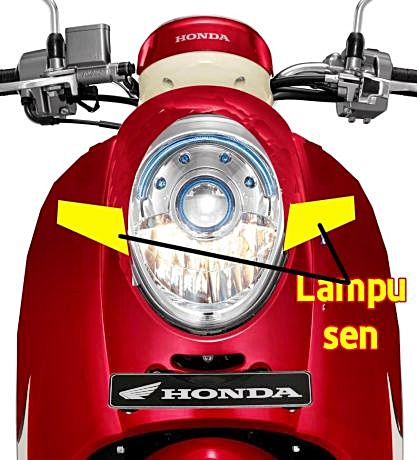 Honda, Scoopy, model 2017