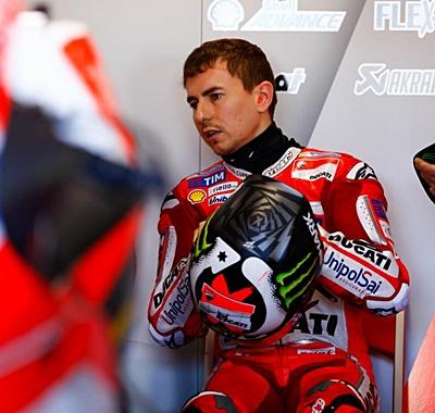 Lorenzo, Ducati, ostrali, tes