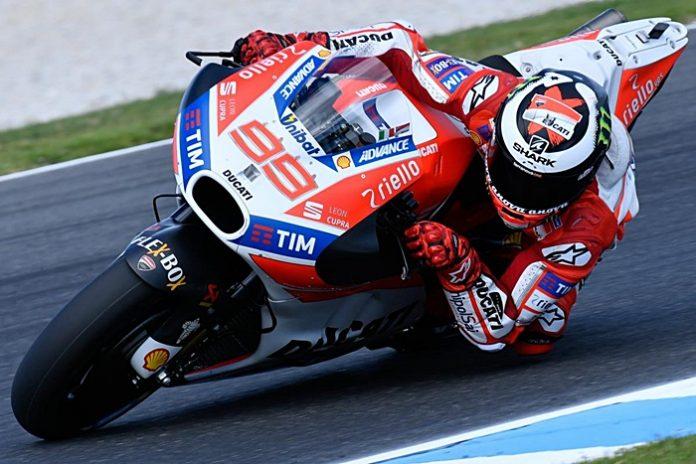 Ducati, Sayap internal, Lorenzo
