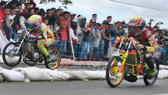 Drag bike tulangagung 2017