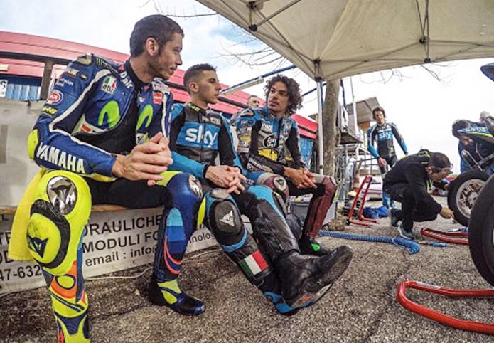 Rossi, morbidelli, qatar