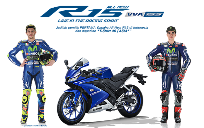 Yamaha, R15, booking online