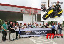 Yamaha, XMAXFIRSTOWNERS, pabrik