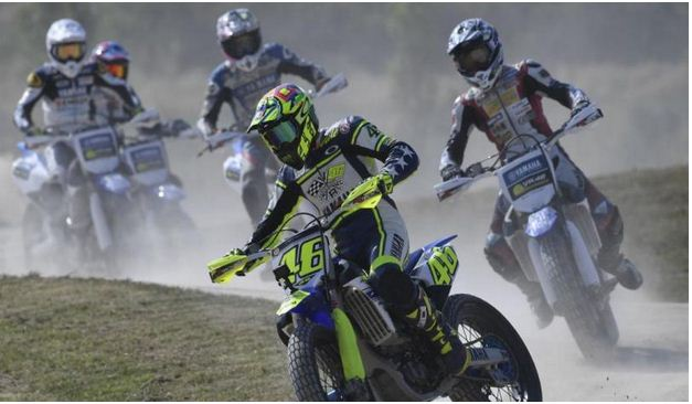 46 dirt track 2016 Rossi Master Champ